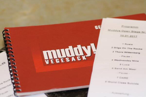 Teilnehmerliste der Muddys Open Stage